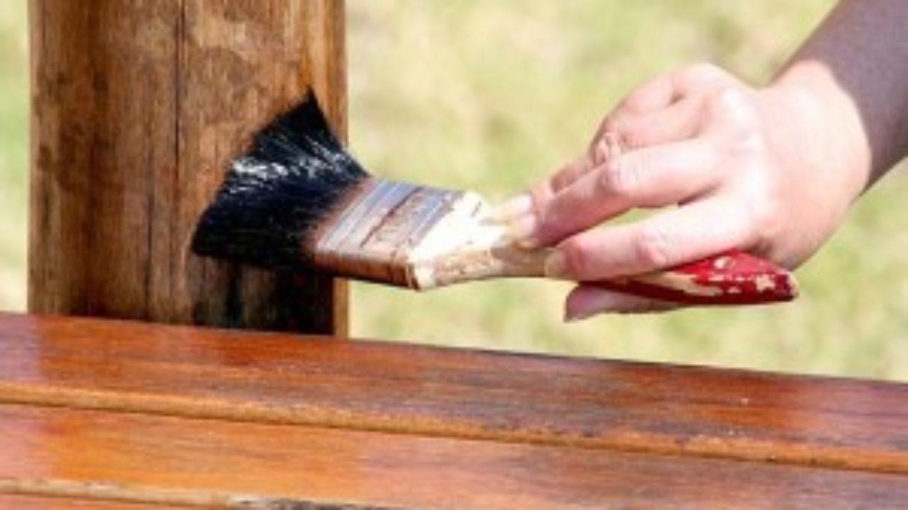 Покраска древесины, особенности технологии. узнай больше, жми!