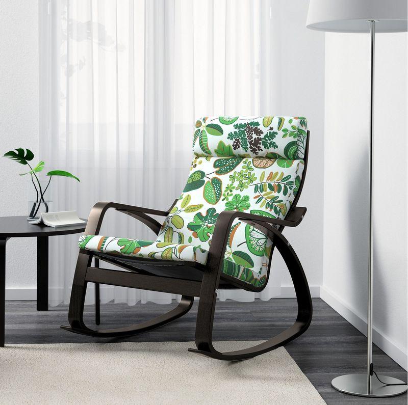 кресло качалка икеа цена