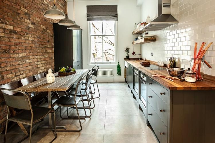 Кухня в стиле «лофт»: варианты дизайна и особенности оформления