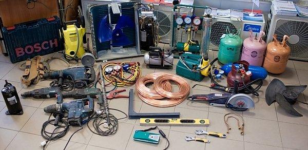 Подключение кондиционера к электросети своими руками по схемам