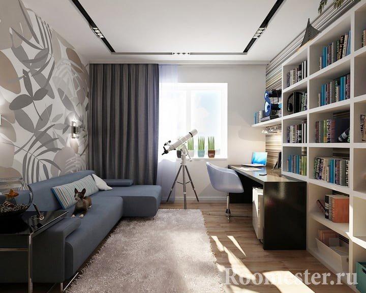 комната для молодого человека 20 лет дизайн