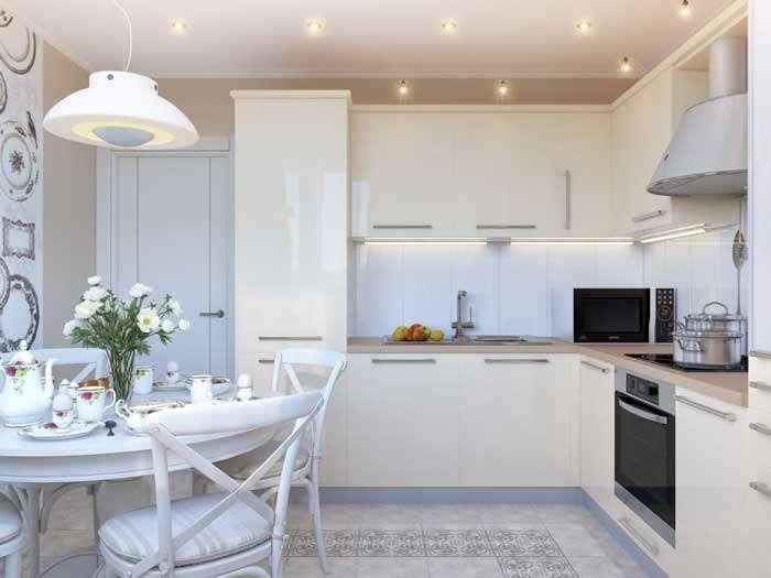 Дизайн кухни 14 кв.м.: стили, планировка - 75 фото