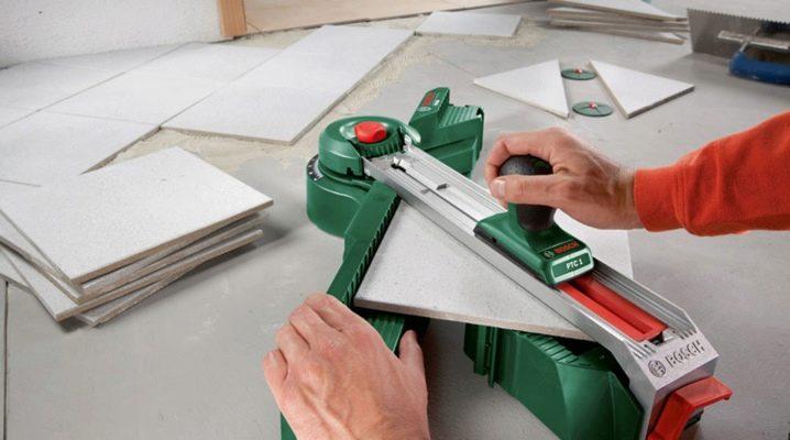 Как резать керамогранит плиткорезом - всё о керамической плитке