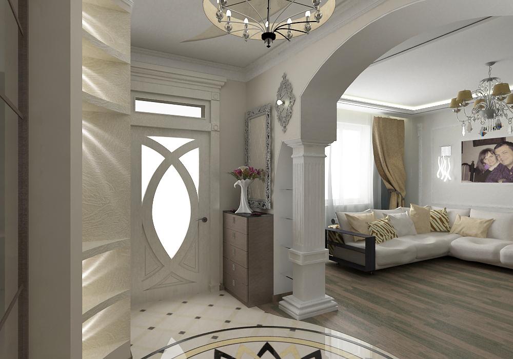 Оформление дизайна холла в большом доме: модные тенденции, советы по отделке