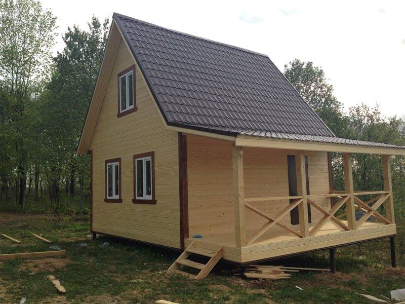 Строительство дешёвого каркасного дома самостоятельно.   karkasnydom