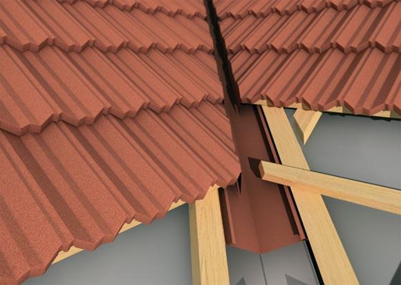Особенности устройства конструкции ендовы крыши - схема работ