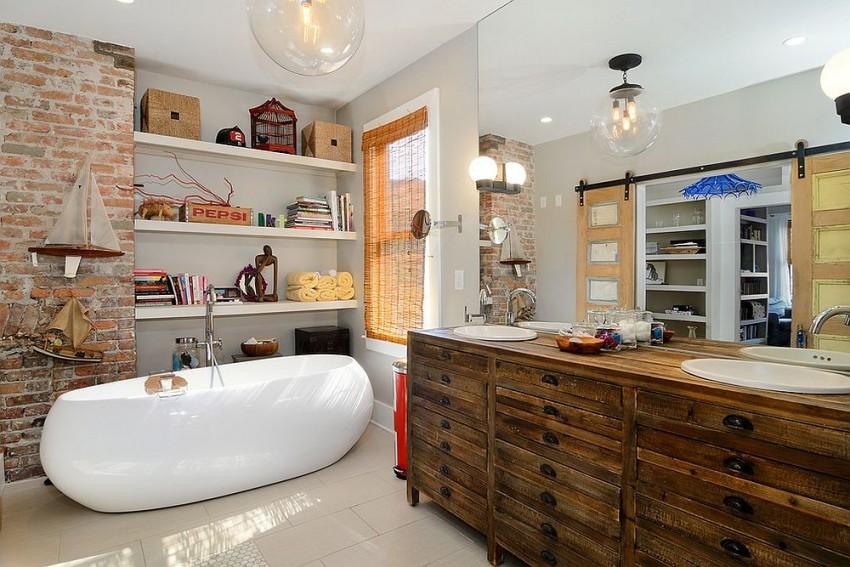 Ремонт ванной комнаты малых размеров 2-4 кв м - 40 фото