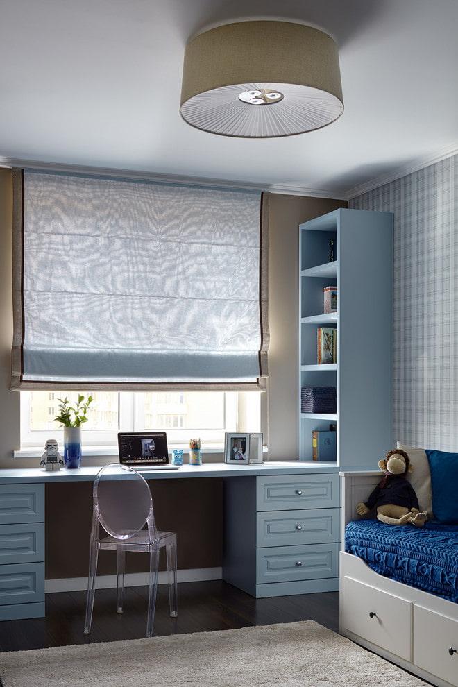 Шкаф вокруг окна - как устроен: виды конструкций