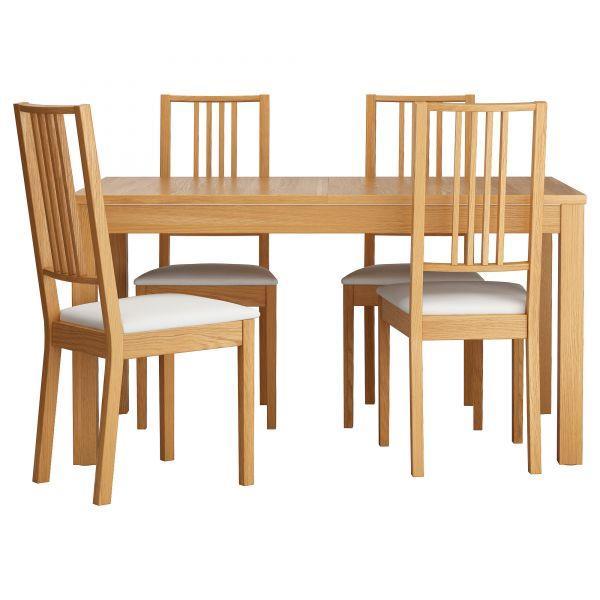 стол икеа белый обеденный