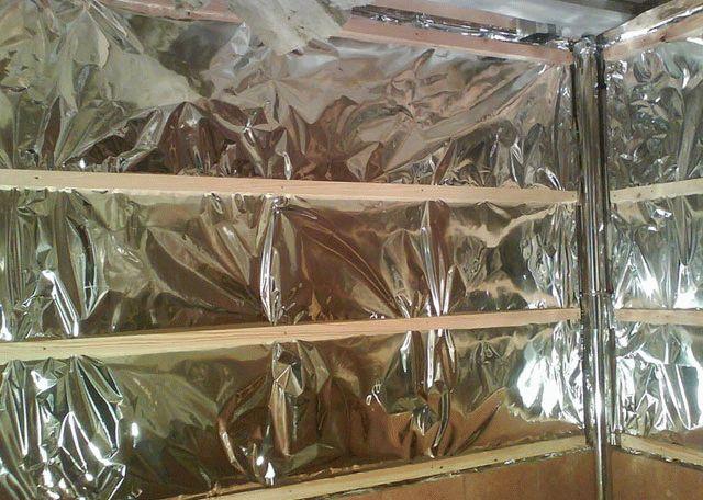 Фольгированные материалы для бани – эффективное сохранение тепла