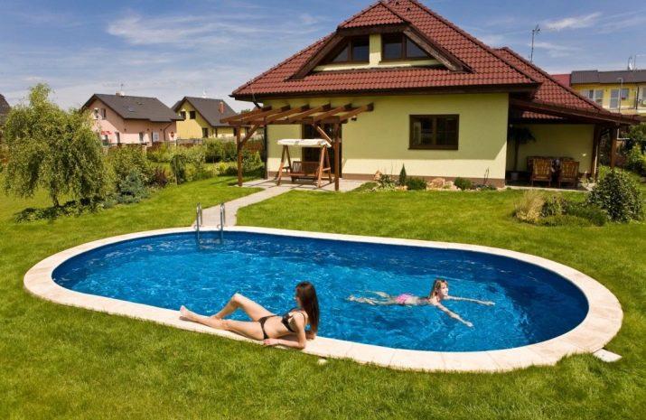 Как сделать бассейн на даче своими руками недорого: фото пошагово
