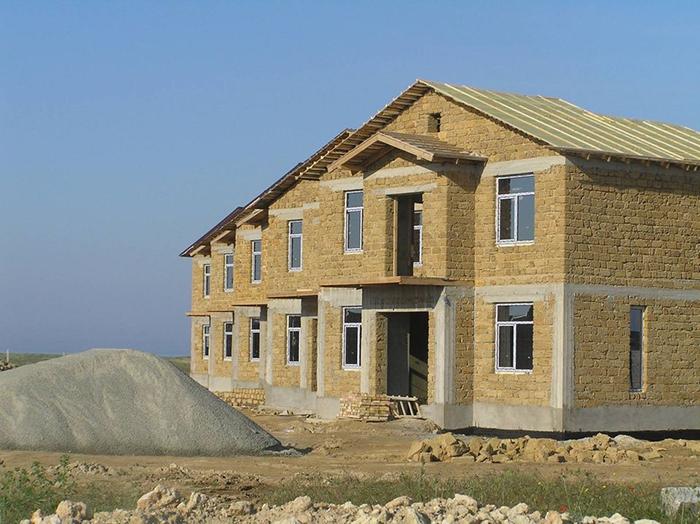 из чего можно построить дом