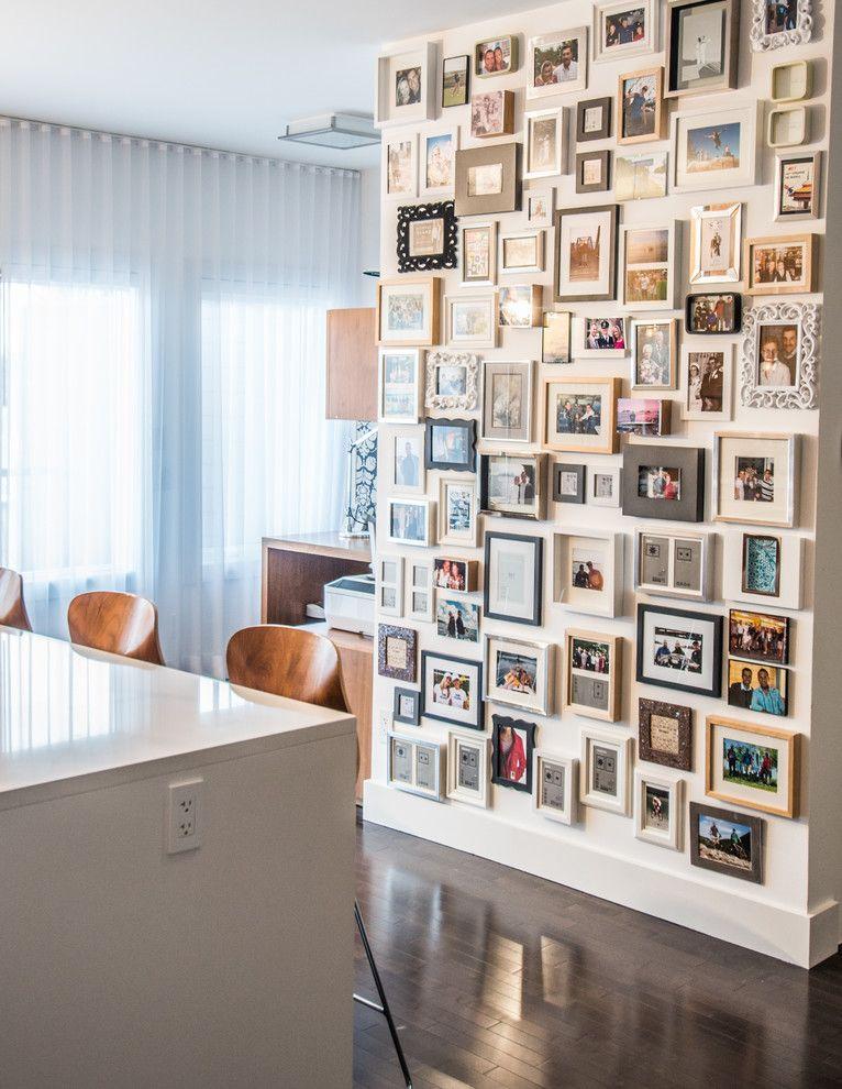 Фоторамки в интерьере — 50 лучших идей по размещению на стене