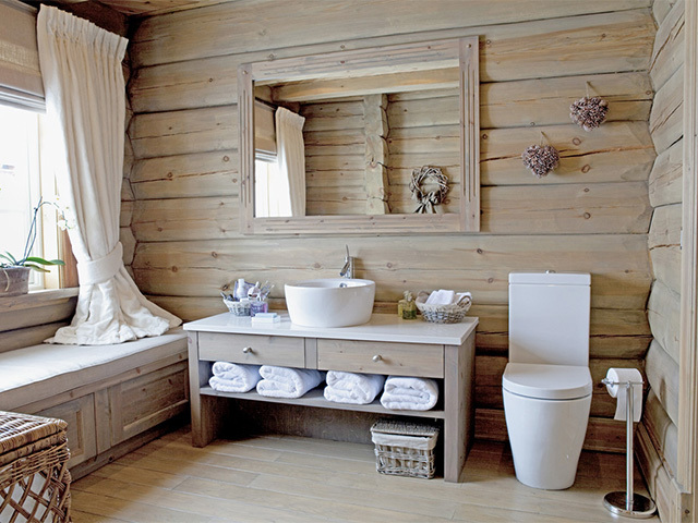 Ванная комната в каркасном доме: установка ванны