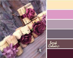 Сочетание сиреневого цвета | lookcolor