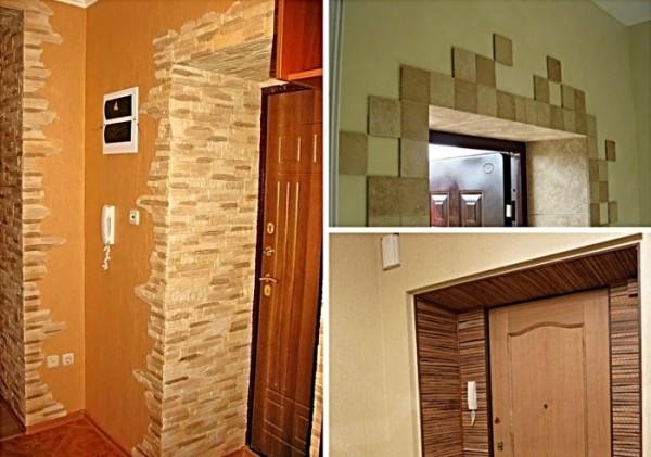 Отделка входной двери изнутри: внутреннее оформление полотна, как облагородить своими руками, фото, видео