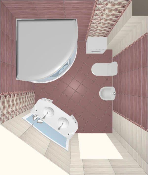 Дизайн-проекты ванных комнат: 100 готовых фото идей