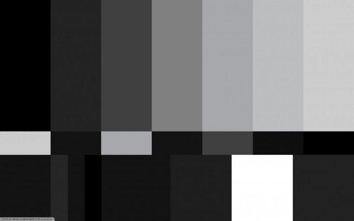монохромные цвета