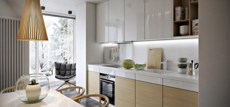 Угловые кухни модерн: новинки в дизайне также светлые оттенки и желтый цвет