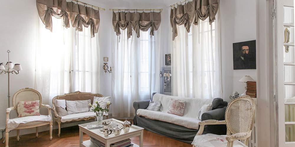 Английские шторы (лондонские) для кухни и других комнат