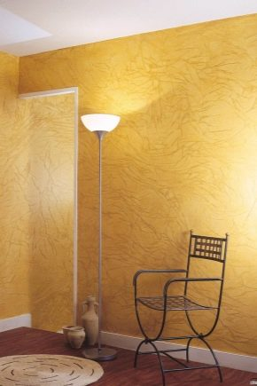 6 видов декоративной штукатурки для внутренней отделки стен