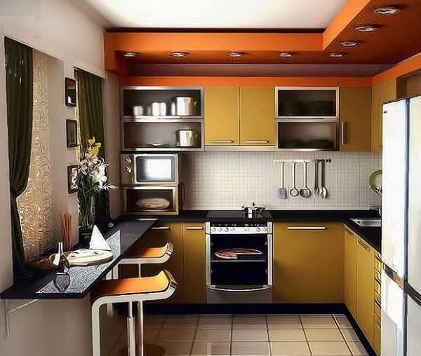 как оборудовать маленькую кухню