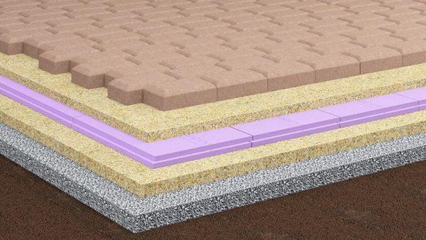 Пеноплекс для пола: характеристики утеплителя и технология монтажа для разных поверхностей