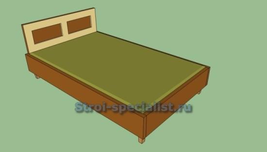 кровать из досок своими руками
