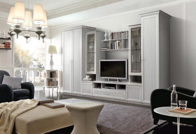 Достоинства и недостатки стенки в гостиной в современном стиле (75 фото)