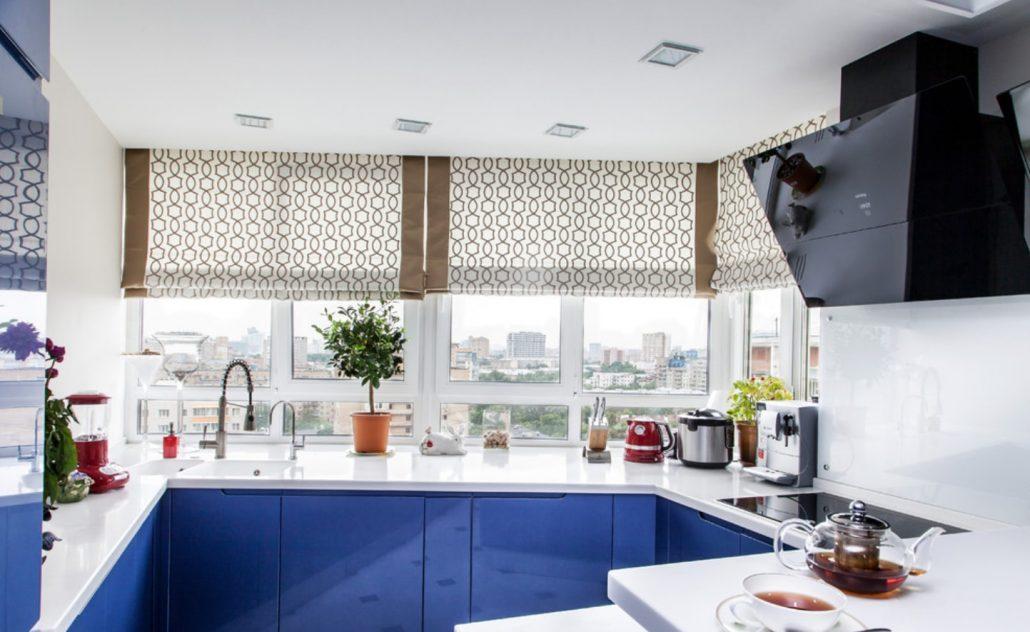 Топ 10 самых популярных штор на кухню