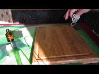 Чем покрыть разделочную доску из дерева для кухни: подготовка, обработка и пропитка нового изделия