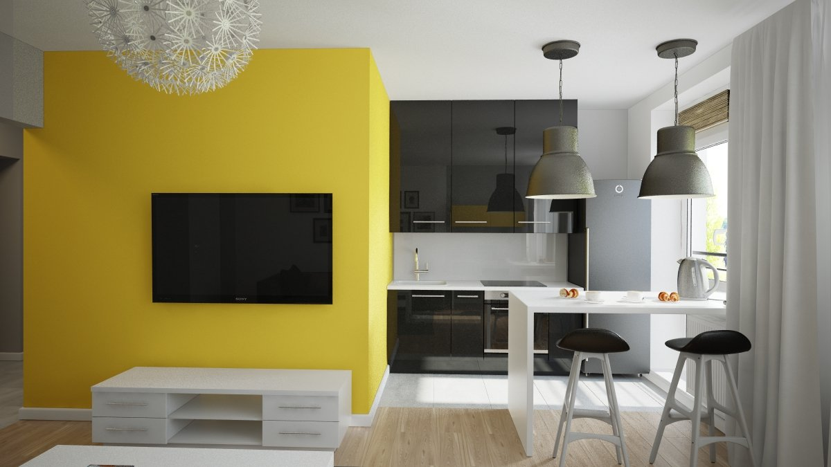 Дизайн штор на два окна: примеры и идеи