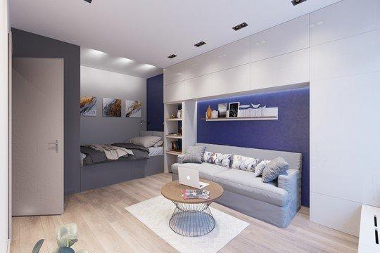 Дизайн 2-комнатной квартиры площадью 60 кв. м (70 фото): создаем интерьер, особенности проекта «распашонки» в панельном доме и другие варианты