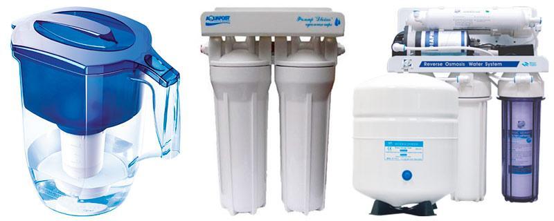бытовые фильтры для питьевой воды