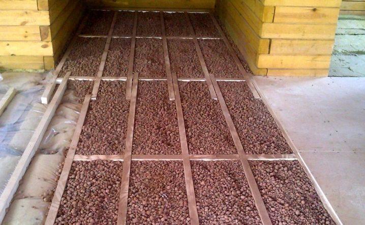насыпной утеплитель для потолка
