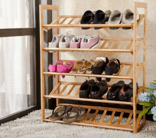 Обувница в прихожую: делаем своими руками (85 фото)