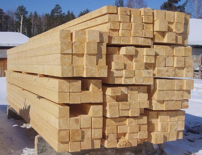размер бруса для строительства дома