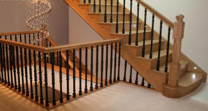 Отделка (облицовка, обшивка) бетонной лестницы деревом своими руками