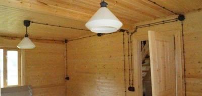 Монтаж открытой ретро-проводки в однокомнатной, двухкомнатной квартире ценой минимальных усилий и работ – самэлектрик.ру
