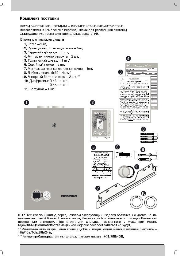 газовый котел koreastar