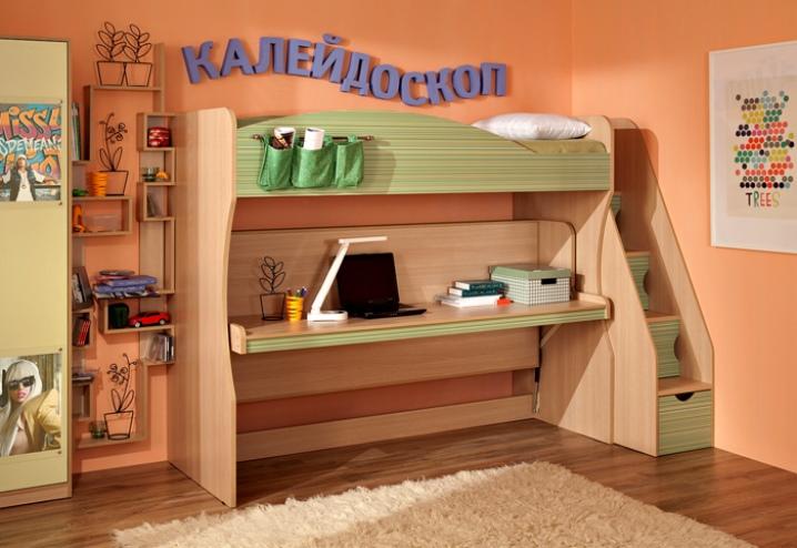 Кровать-чердак (73 фото): с рабочей зоной внизу и со столом, двухъярусная модель для детей и родителей, цвета и размеры, отзывы