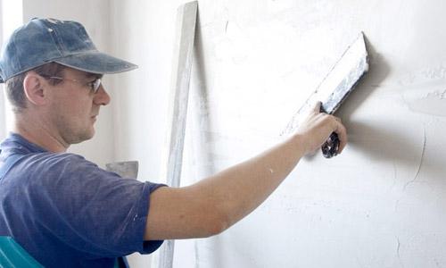 как правильно зашпаклевать стену