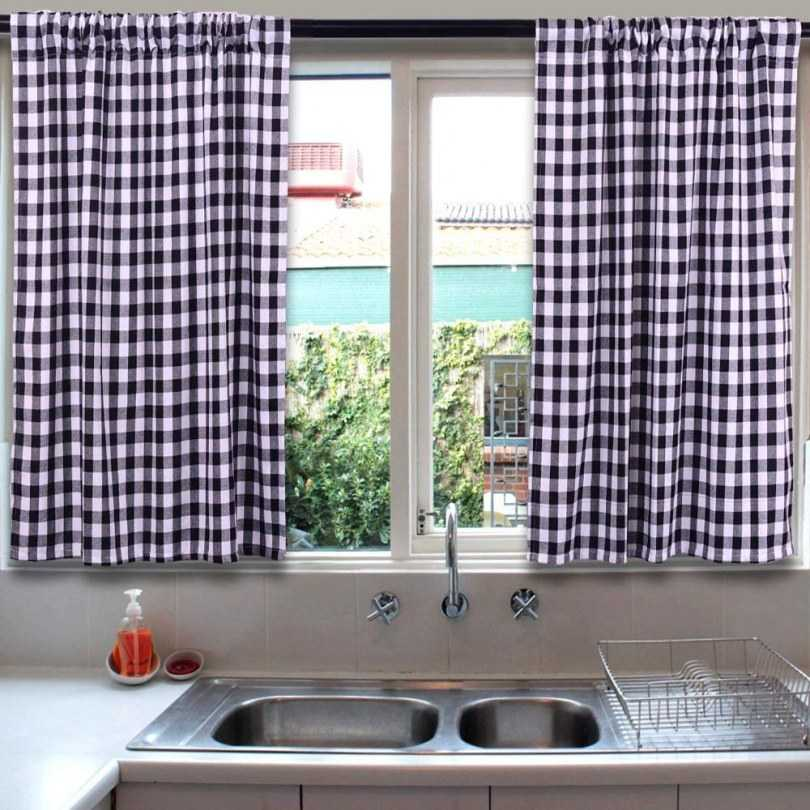 шторы для кухни новинки