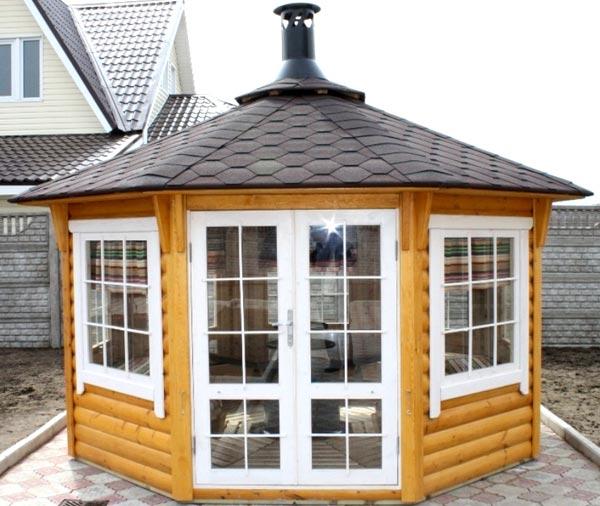 Как построить домик-гриль: отдых на природе при любой погоде, личная беседка для уютного общения