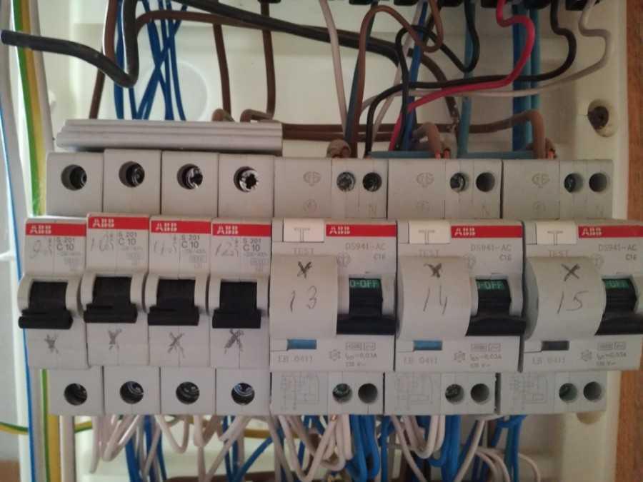 гребенка для автоматических выключателей