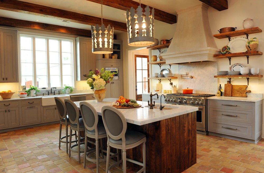 100+ лучших фото идей дизайна: кухня в стиле прованс