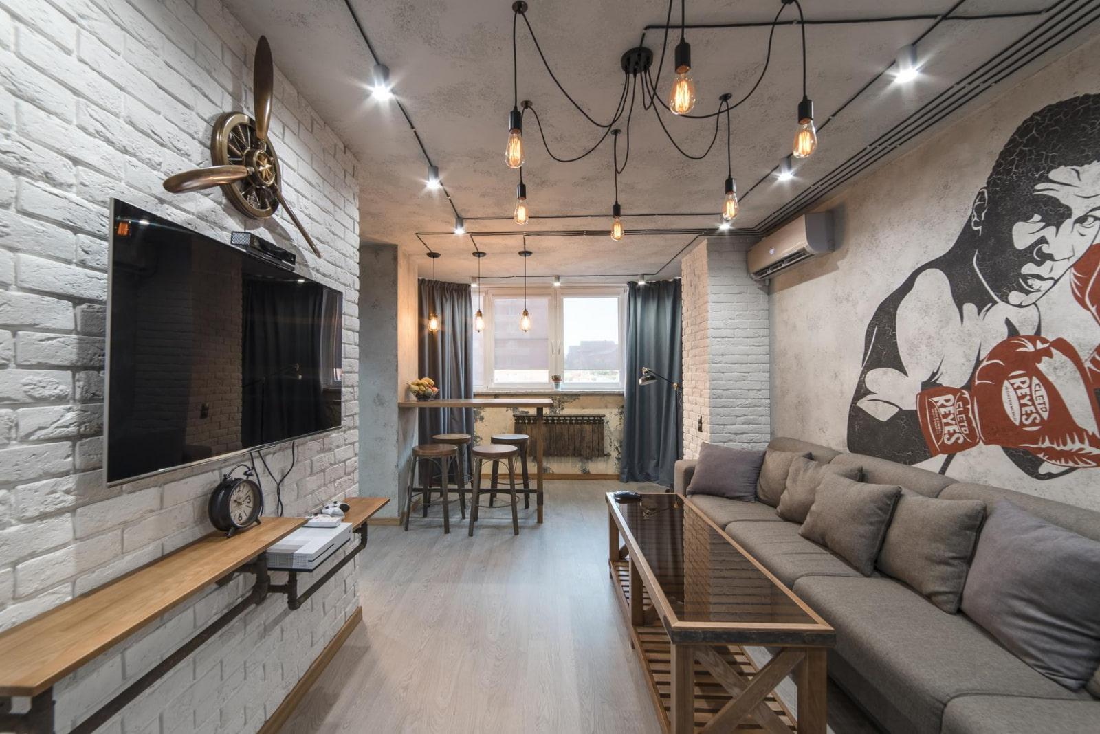 Какой потолок лофт лучше подойдет для разных помещений – варианты оформления потолков деревом