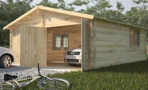Этапы строительства каркасного гаража своими руками
