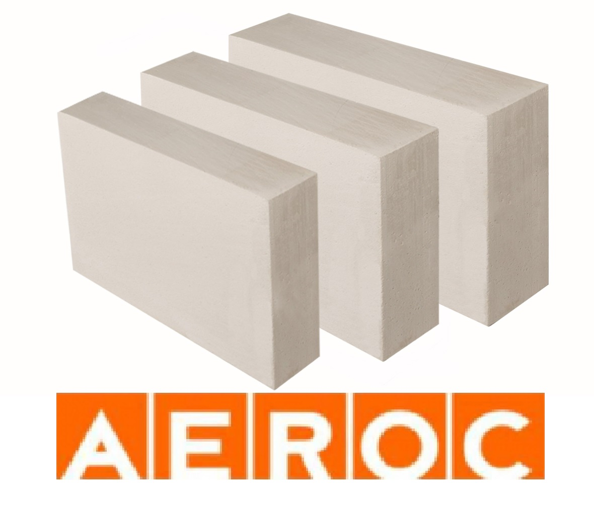 Газобетон лср сертолово / аэрок / aeroc - стеновые блоки из ячеистого бетона               (россия)