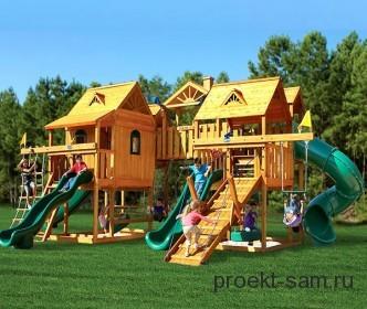17 увлекательных детских площадок в московских парках